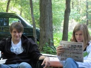 Taylor and Kristi