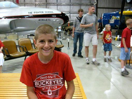 Jake at the air zoo