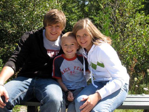 Taylor, Josiah and Kristi
