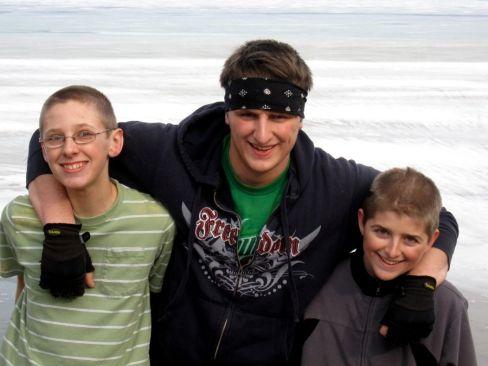 Luke, Taylor and Jacob