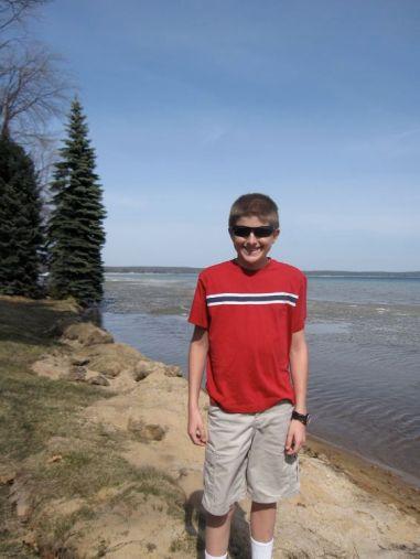 Jake by the lake
