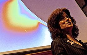 Carolyn Porco speaking