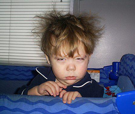alarm clock boy