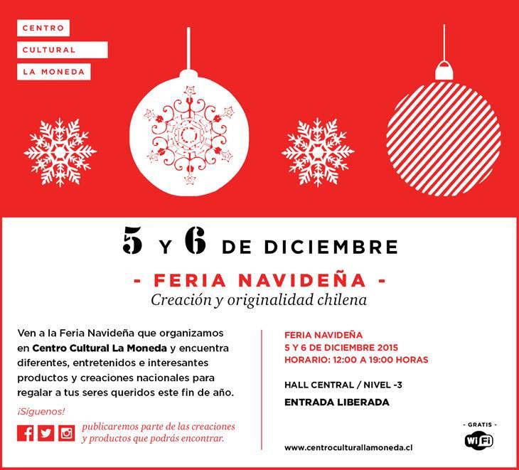 Centro Cultural La Moneda – Feria Navideña