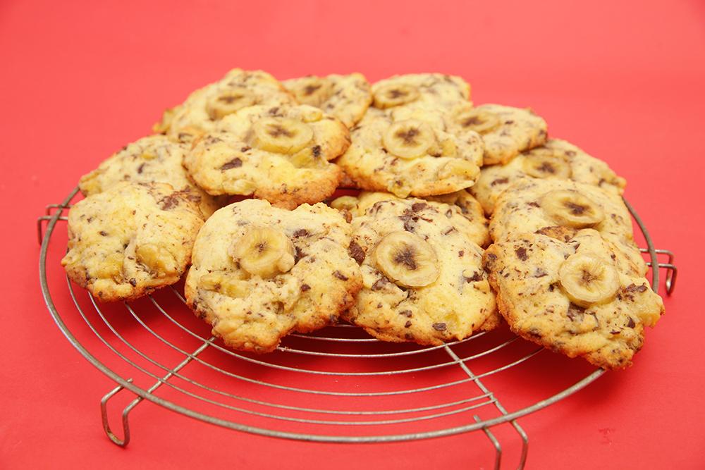 Cookie à la banane et au chocolat : les meilleurs cookies