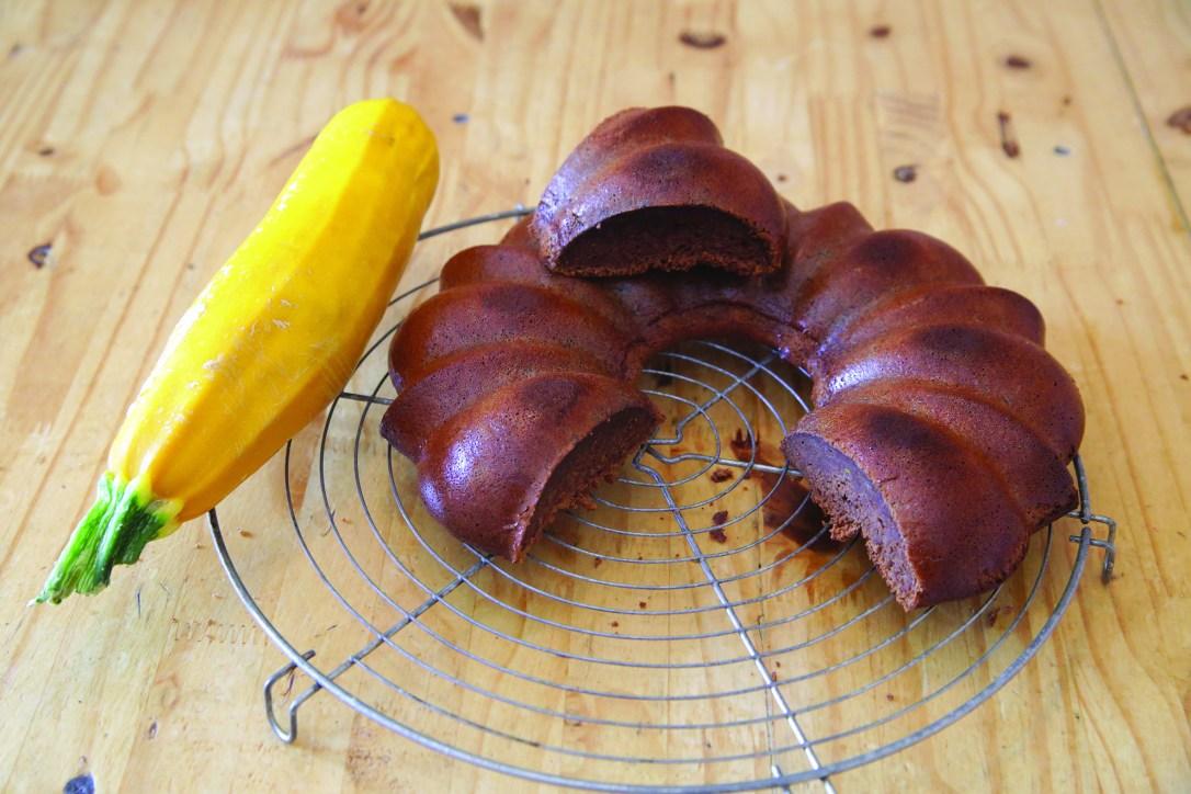 Gâteau à la courgette et au chocolat