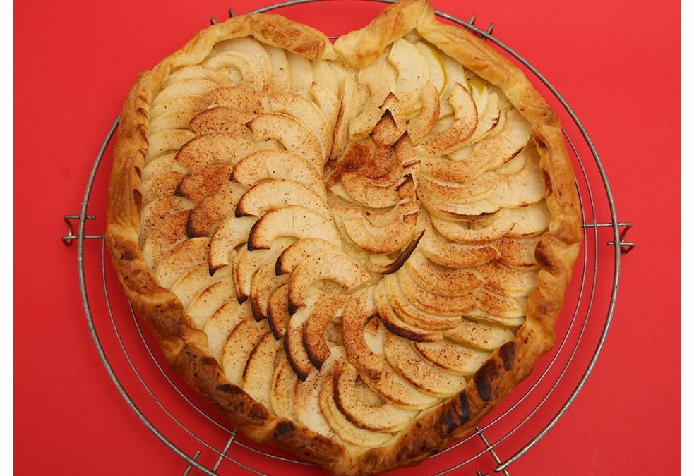 Tarte fine aux pommes : un cadeau gourmand pour la fête des mamans