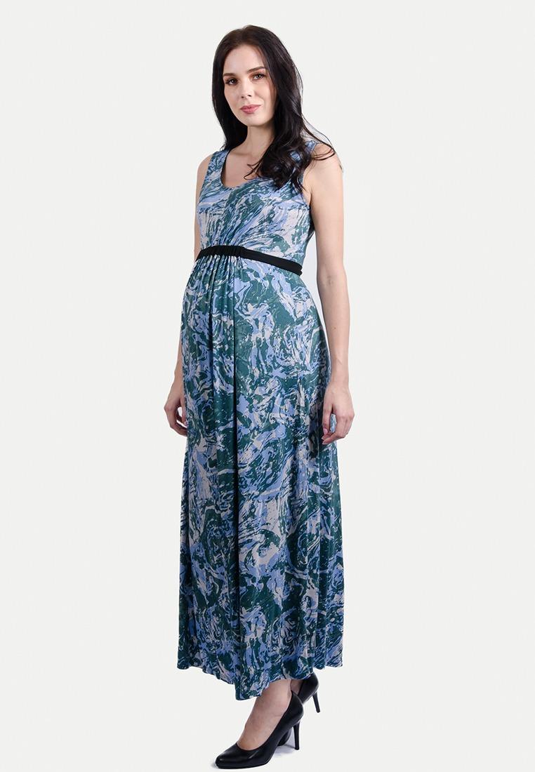3a6108ec8e3 Green 277D Sash Tie Maternity Maxi Dress