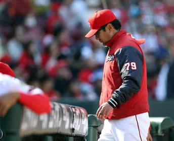 今季初の連敗…緒方監督は、京山に脱帽「打者も合わせるのは難しい」