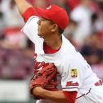 先発・福井は、5回80球を投げ4失点で降板…投手の上原に一発許す