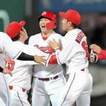 今季9度目のサヨナラ勝ち!誠也が延長十一回、決勝打「最高でーす」