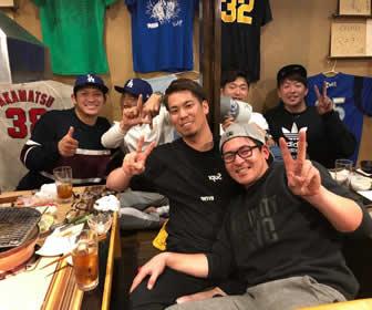 マエケン、古巣メンバーとの家族写真が「豪華すぎる」とファン歓喜!
