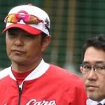 緒方監督が岡田、床田にアドゥワも『先発』へ期待「力をつけている」