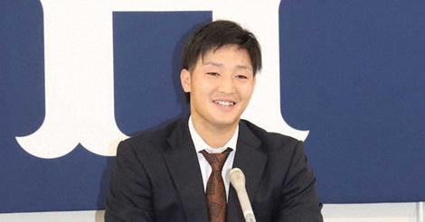 床田寛樹が契約更改、2050万円増の大幅昇給に「まじっすか…」
