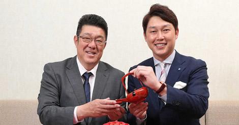 佐々岡監督、新井氏に構想語る「1年目から勝負してV奪回と日本一」
