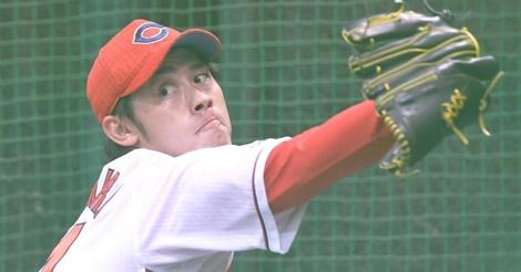 中村恭平が順調な回復アピール!ブルペンで50球「急によくなった」