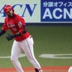 対外試合13連敗でストップ…誠也3ラン、メヒア2発4打点で白星!