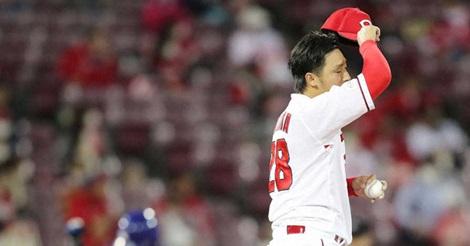誠也が2発も空砲に…本拠で惜敗、床田は6回4失点でワースト7敗目
