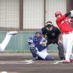 鈴木誠也「新打法1号」、開幕前哨戦で恐怖の3番打者を見せつけた!
