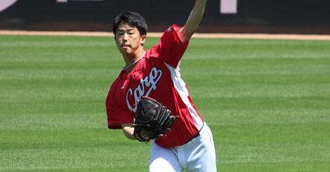 高卒2年目・玉村昇悟、プロ1勝へ追試!9日中日戦に先発でアピール