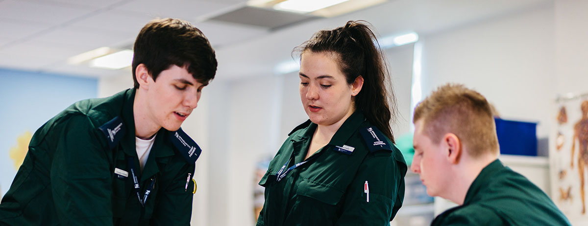 Paramedic Science with Foundation Year – BSc (Hons) *