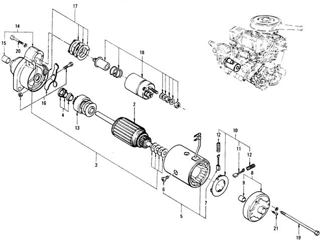 Hitachi Starter Wiring Diagram