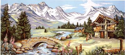 0001_Alpesi tájkép (hosszú) (Erbert)