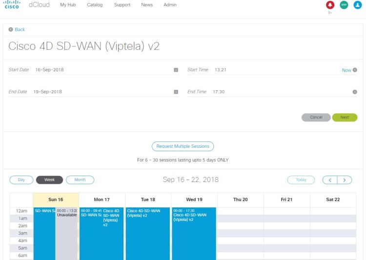 Getting Started with dCloud - Prelude to SD-WAN Deep Dive