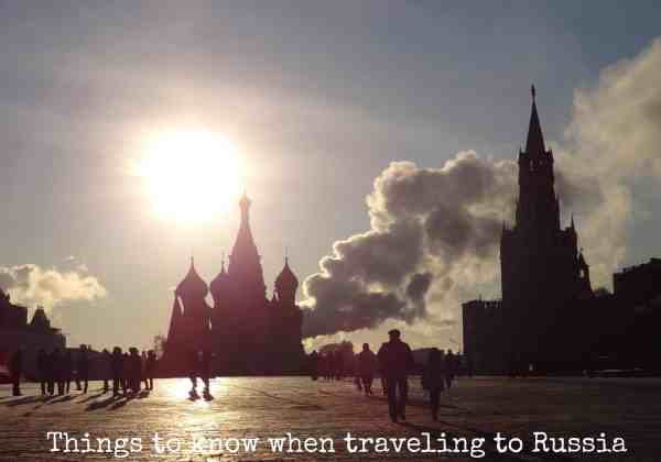 Things to know about Russia when traveling there