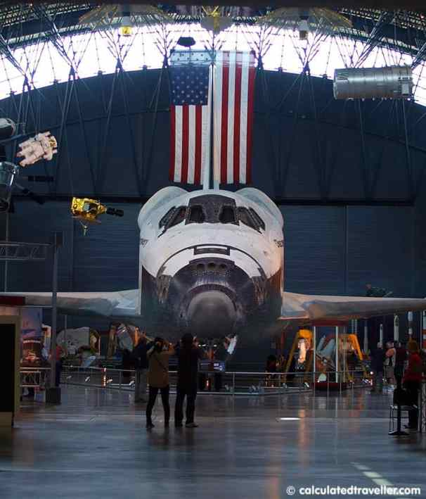 Space-Shuttle-Discovery by Mary Chong at Calculated Traveller
