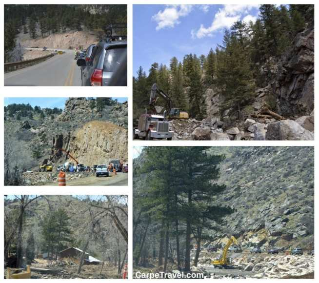 driving to rocky mountain national park