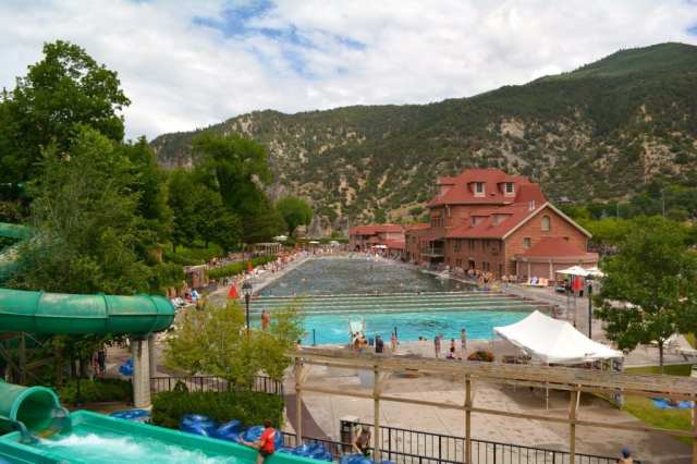 Top Hot Springs in Colorado: Glenwood Hot Springs