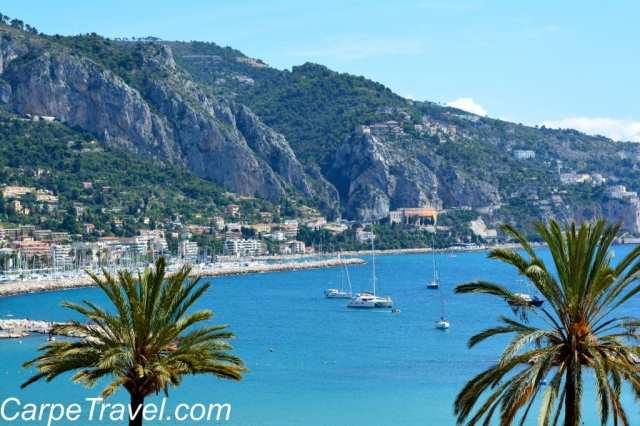 views of The Med in Menton
