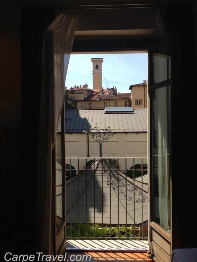 NH Santo Stefano bedroom view