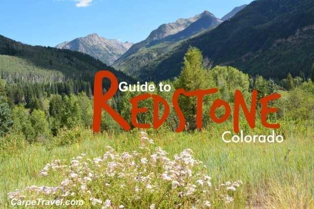guide to redstone colorado