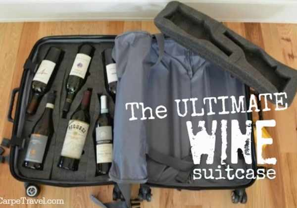 ultimate wine suitcase