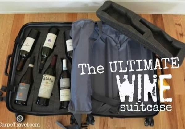 ultimate wine suitcase