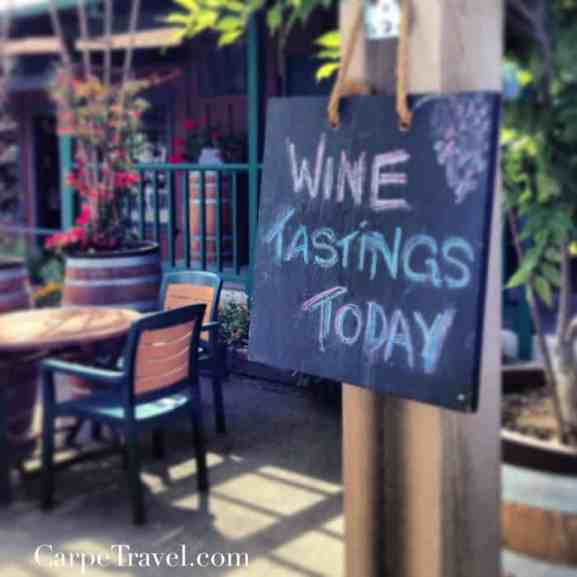planning a wine trip