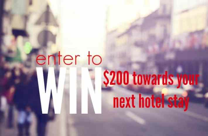 Enter to win $200 on your next hotel stay when booked through StayFaster or StayAtHand