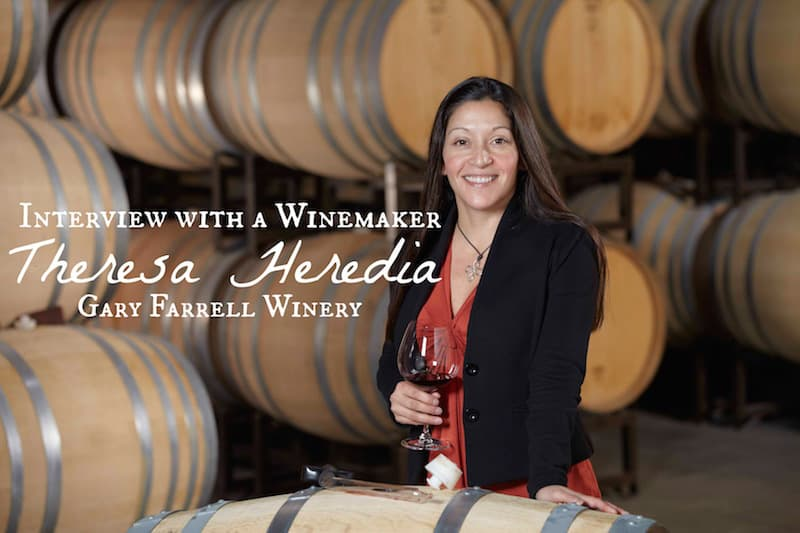 Russian River Valley Wineries: Interview with the winemaker, Therea Heredia from Gary Farrell Winery