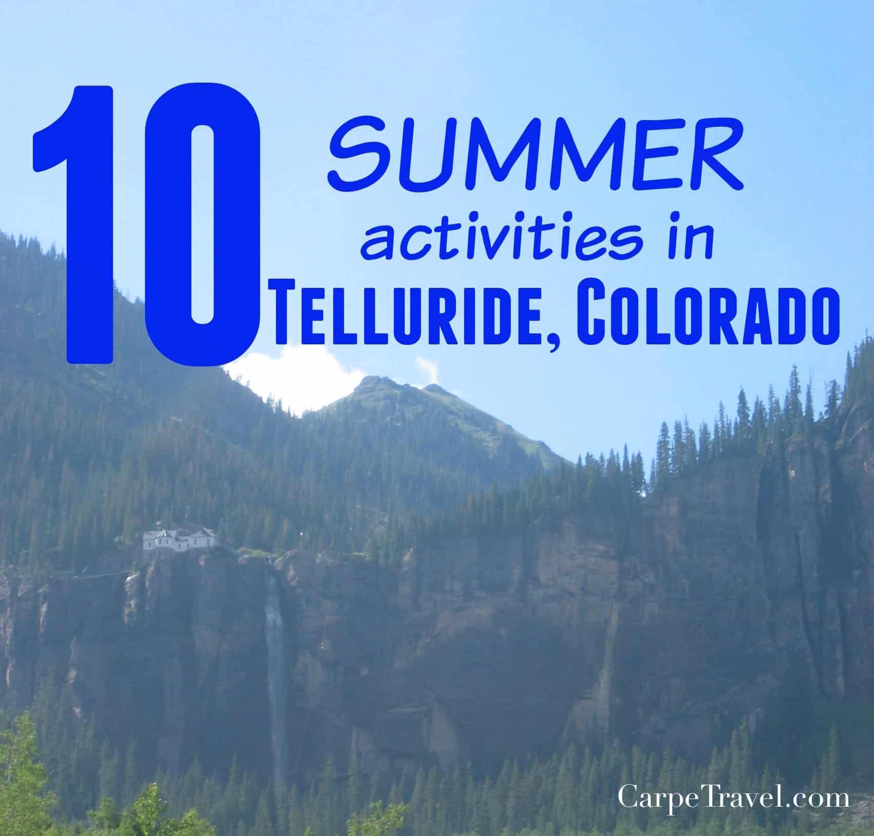 Telluride History Tour