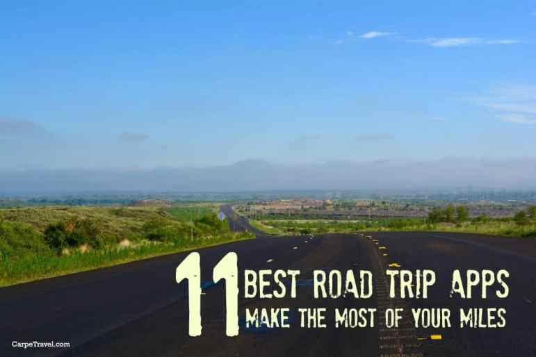 best road trip apps