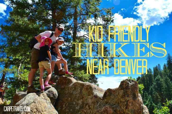 Click through for a guide to Kid Friendly Hikes Near Denver