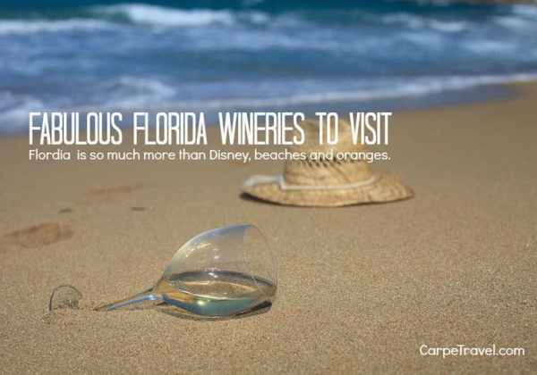 Fablous Flordia Wineries to Visit