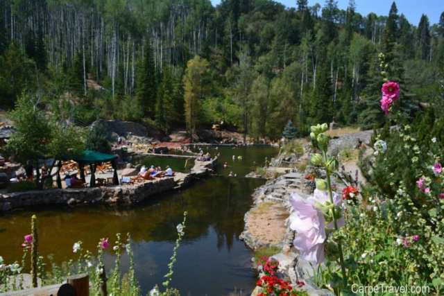 Things to do in Steamboat Springs with Kids - Strawberry Park Hot Springs. Click through for more summer and winter activities in Steamboat Springs.