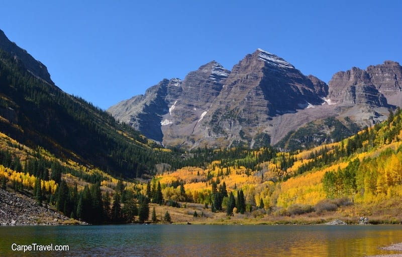 Aspen Maroon Bells:  Family Friendly Aspen Hiking Trails