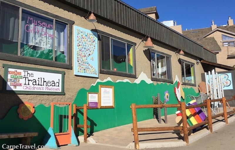 Things to do in Crested Butte Colorado Besides Skiing: Need to entertain little ones? Head over to the Crested Butte Trailhead Childrens Museum. Click over for other ideas on things to do in Crested Butte.