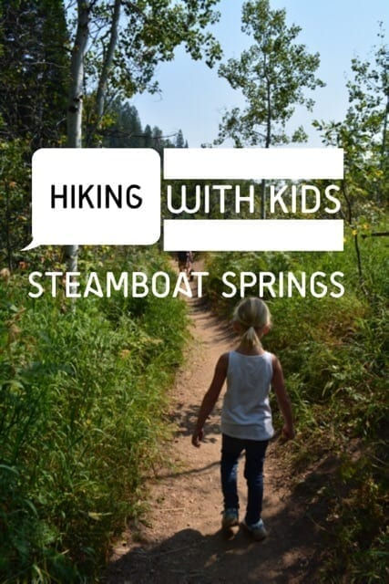 Looking for easy hikes in Steamboat Springs, CO? This rounded up includes seven easy Steamboat Springs hiking trails perfect for hiking with kids.