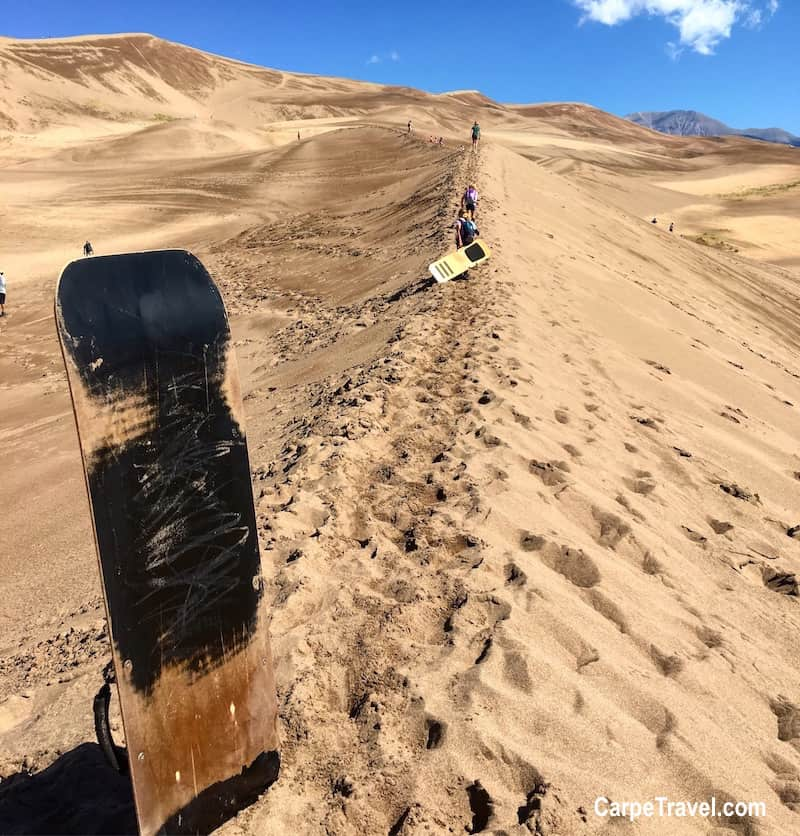 Places to Take Kids in Colorado (before they grow up): The Great Sand Dunes National Park. Click over for a complete list!