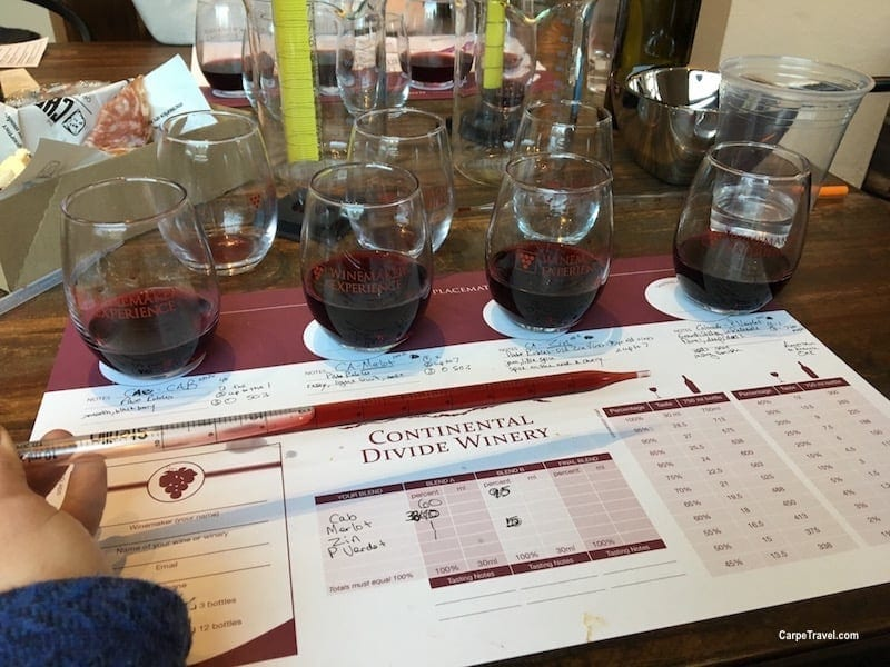 Things to do in Breckenridge- Continental Divide Winery